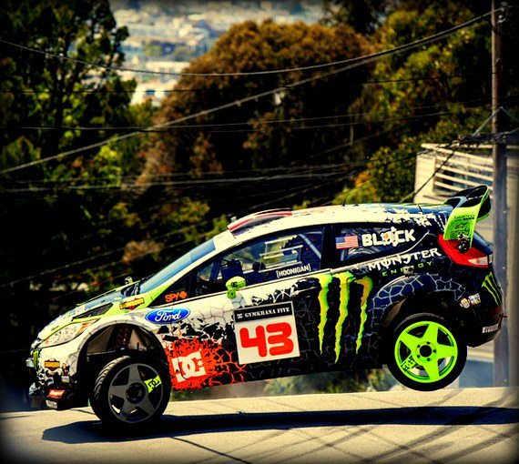 Ken Block – San Francisco Gymkhana