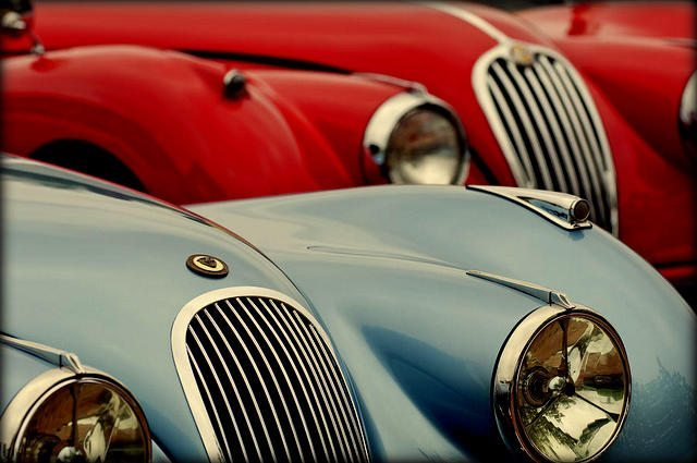Most Beautiful Cars:  Jaguar XK120